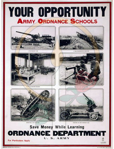 Your Opportunity Army Ordnance Schools