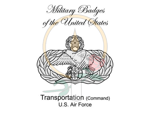 Badge Card, Transportation (Command)