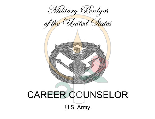 Badge Card, Career Counselor