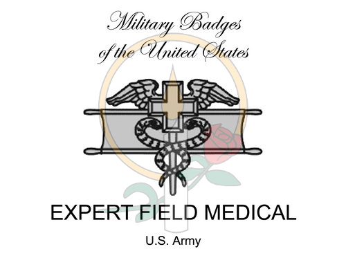 Badge Card, Expert Field Medical