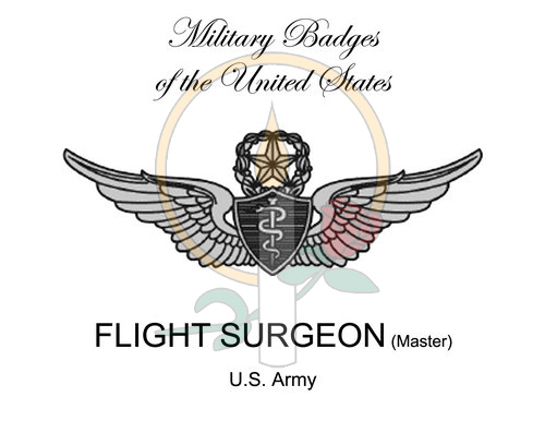 Badge Card, Flight Surgeon (Master)
