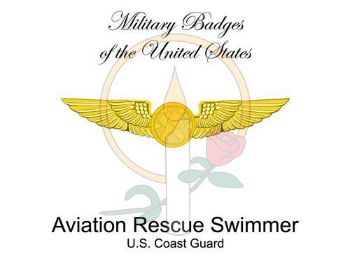 Badge Card, Aviation Rescue Swimmer