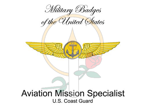 Badge Card, Aviation Mission Specialist