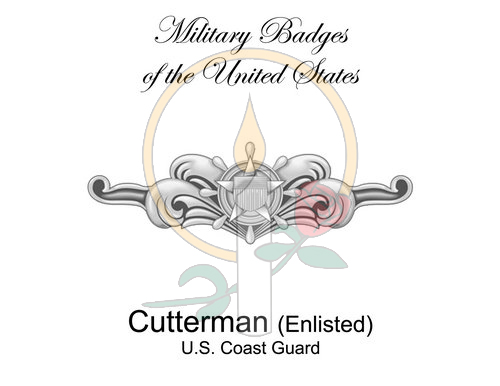 Badge Card, Cutterman (Enlisted)