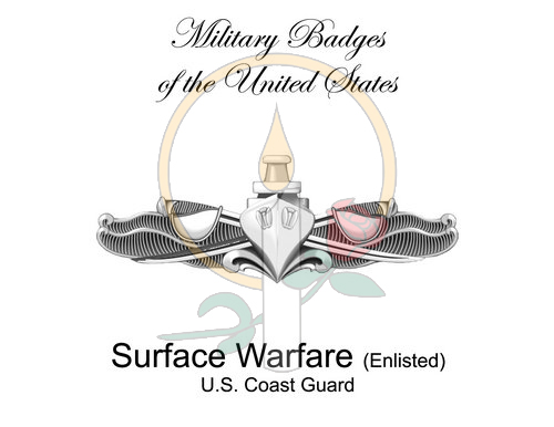 Badge Card, Surface Warfare (Enlisted)