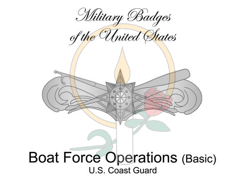 Badge Card, Boat Force Operations (Basic)