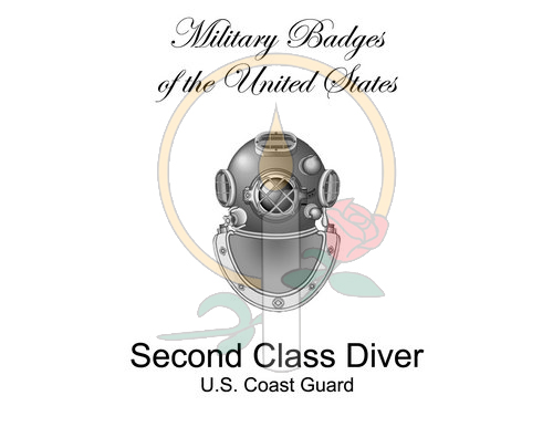 Badge Card, Second Class Diver