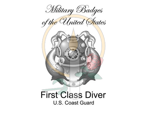 Badge Card, First Class Diver