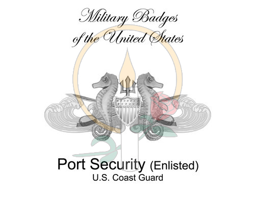 Badge Card, Port Security (Enlisted)