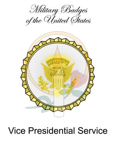 Badge Card, Vice Presidential Service