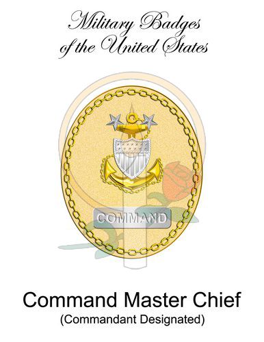 Badge Card, Command Master Chief (CMDT)