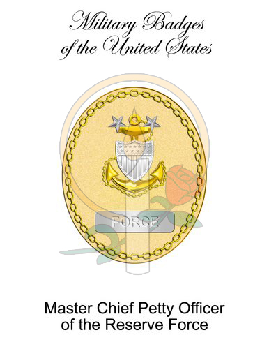 Badge Card, Master Chief Petty Officer of the Reserve Force