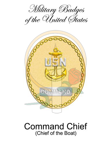 Badge Card, Command Chief (CoB)