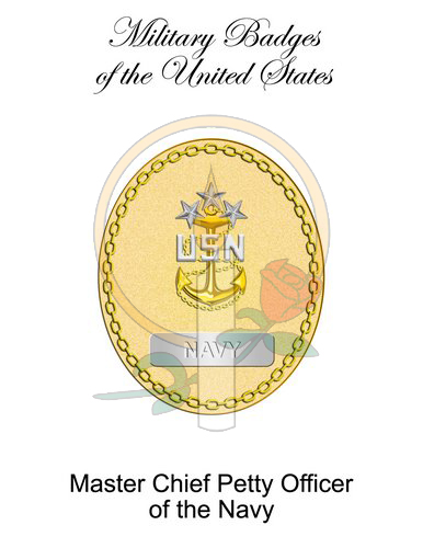 Badge Card, Master Chief Petty Officer of the Navy
