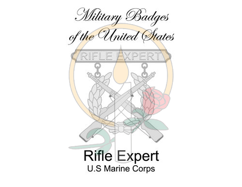 Badge Card, Rifle Expert