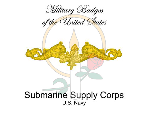 Badge Card, Submarine Supply Corps