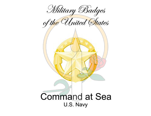 Badge Card, Command at Sea