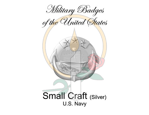 Badge Card, Small Craft (Silver)