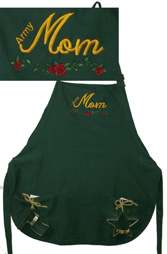 Apron, Army Mom