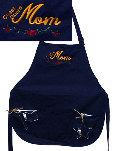 Apron, Coast Guard Mom