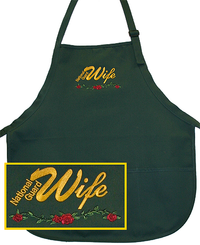 Apron, Natl Guard Wife