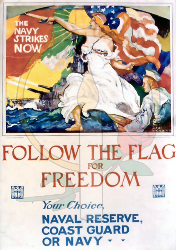 Follow the Flag for Freedom
