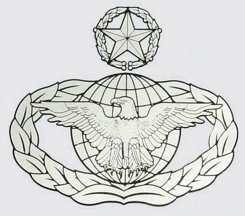 Master Law Enforcement Badge Decal