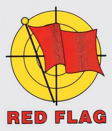 Red Flag Decal