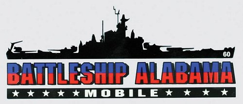 Battleship Alabama Window Decal
