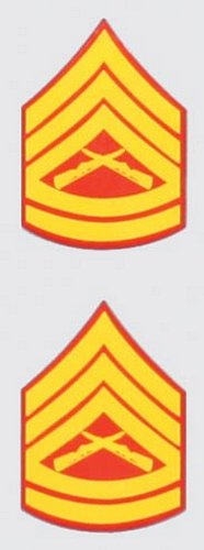 E-7 GSGT. Mini Decal (2 pc)