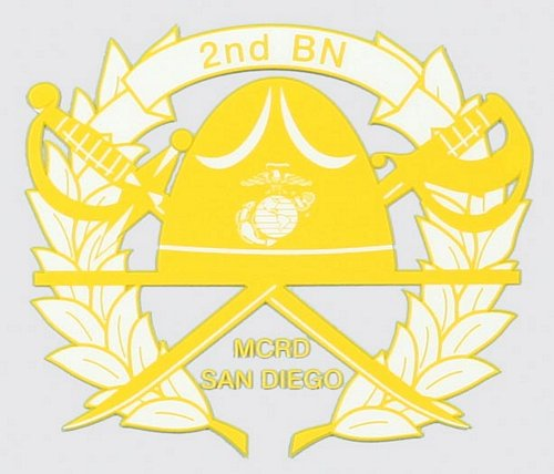 2nd Recruit BN San Diego Decal