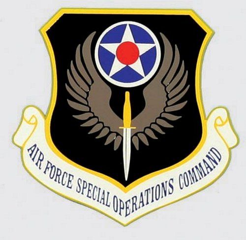 Air Force Special Ops Command Decal