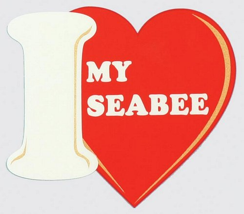 I Love My SEABEE Decal
