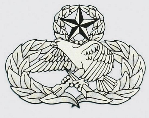 Air Force Maintenance Badge Decal