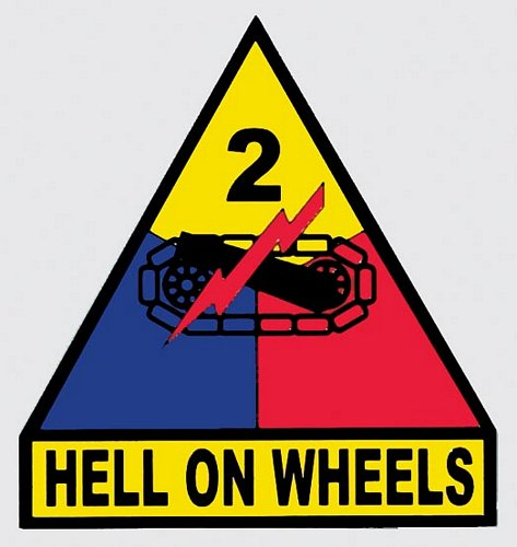 2nd Armored Division Decal
