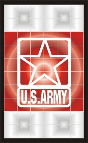 US Army Star Tail Light Decal