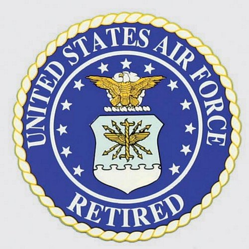 U.S. Air Force Retired Decal