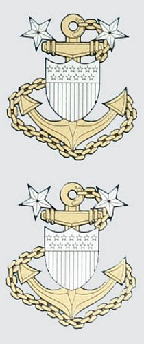 Master Chief Petty Officer E-9 (2 pc.)