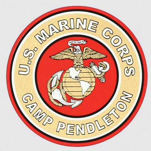 Camp Pendleton Decal