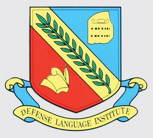 Defense Language Institute Decal, MilitaryWives com Online Store