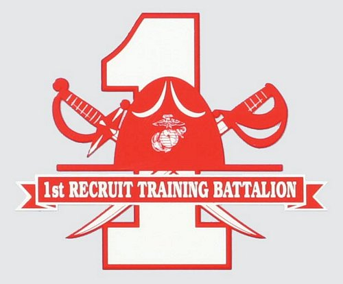 1st Recruit BN Decal