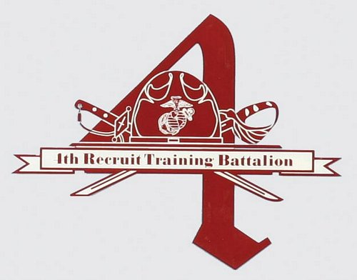 4th Recruit BN Decal