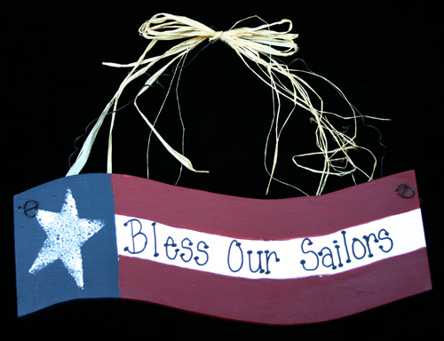 Wavy Flag - Bless Our Sailors