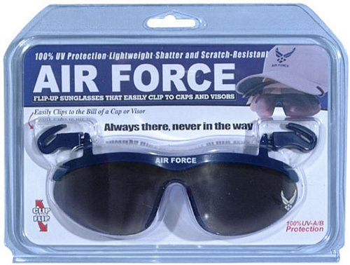 Air Force Clip On Eyewear For Caps