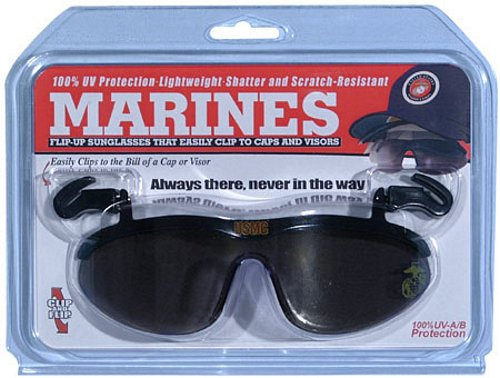Marine Corps Clip On Eyewear For Caps
