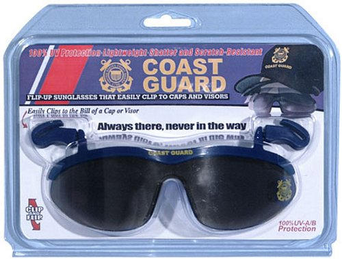 Coast Guard Clip On Eyewear For Caps