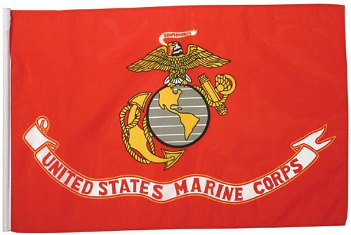 Marine Corps Flag, 18 in
