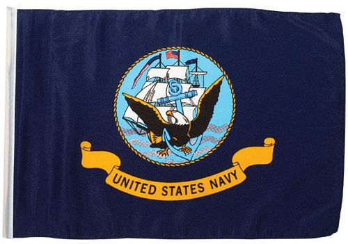 Navy Flag, 18 in