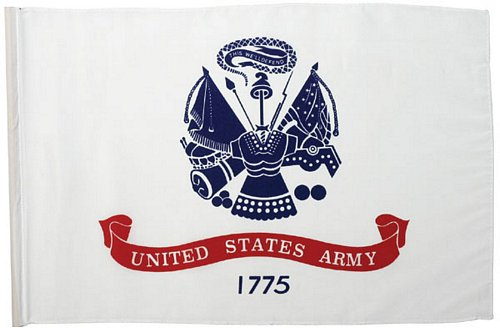 Army Flag, 18 in