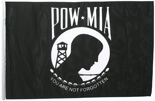 POW MIA Flag, 18 in